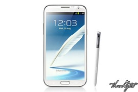 Samsung Galaxy Note II Phablet 16Gb Marble White