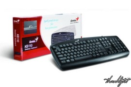 Bộ Keyboard Genius KB110 và Mouse Genius NS110X