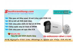 Camera IP HIKVISION DS-2CD2021G1-IDW1 (/12V)