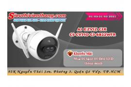 Camera IP ai Ezviz c3x cs-cv310-c3-6b22wfr