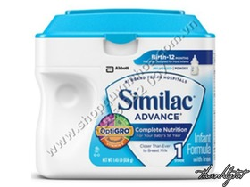 Similac Advance Mỹ, 658g