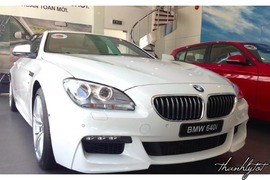 BMW 640i Gran Coupe 2015